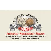 Anticariat-Numismatica-Filatelie de la Secunda 8 Srl