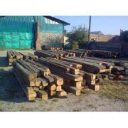Grinzi si fostine vechi de stejar, din demolari de la Menco Prod Srl