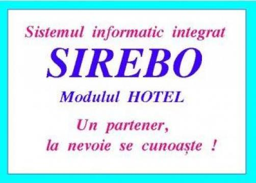 Software evidenta hotel de la Rebola Soft Srl