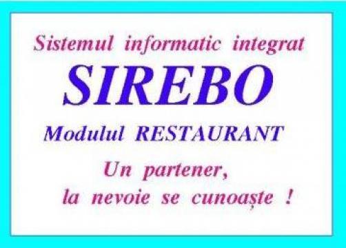 Software evidenta si gestiune restaurant de la Rebola Soft Srl
