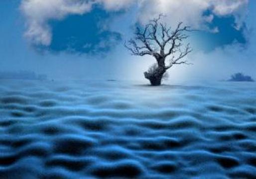 Tablou - Blue landscape de la Blinkeye Srl