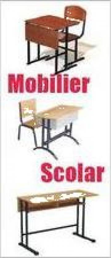 Mobilier scolar de la Belvedere Company