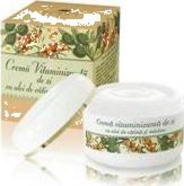 Crema vitaminizanta de zi cu ulei de catina si masline de la Cosmetic Plant Prodcom S.r.l.