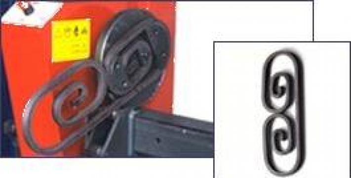 Masini pentru prelucrat fier forjat de la Infomark Srl.