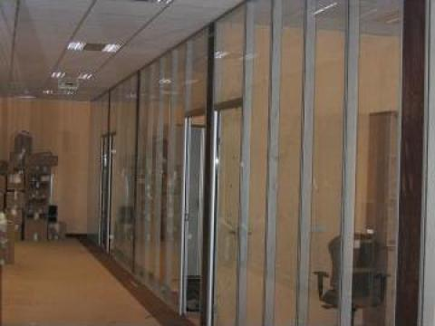 Compartimentari birouri sticla de la Ekko