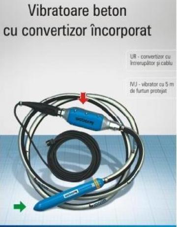 Vibratoare beton cu convertizor incorporat de la Idm Dinamic Srl