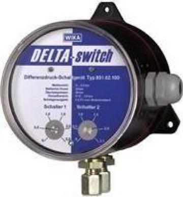 Manometru pentru presiune diferentiala Delta-switch de la Paldo Group International Sa