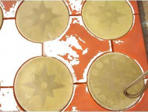 Pavaj stele si cercuri