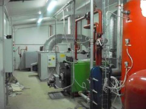 Centrale termice pentru statii de betoane