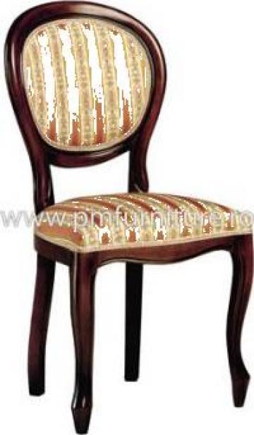 Scaune pentru restaurant din lemn de stejar Fresia de la P & M Furniture