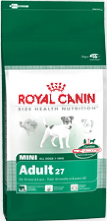 Hrana caini Royal Canin mini adult de la Panthera Med