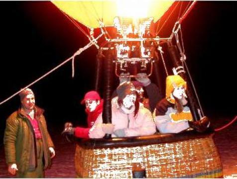 Zboruri de team building cu balon cu aer cald de la Excelsior Company