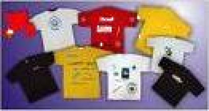 Imprimari tricouri, geci, materiale textile de la Metropress Service Srl
