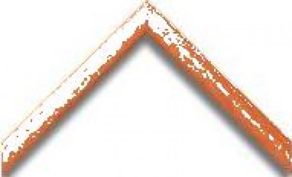Profil lemn portocaliu