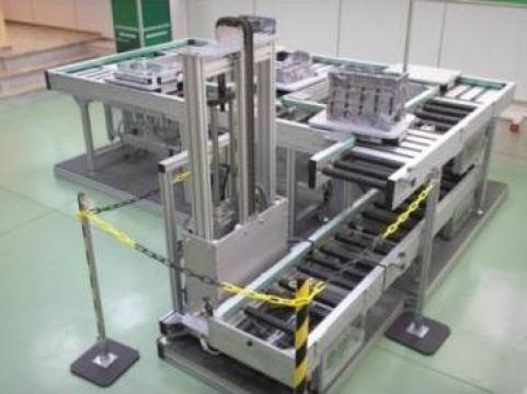 Conveioare cu role pentru linii automate de productie