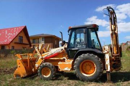 Buldoexcavator Case 580SM de la Sc Lilias2003 Srl
