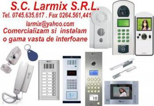 Interfon pentru blocuri de la Larmix