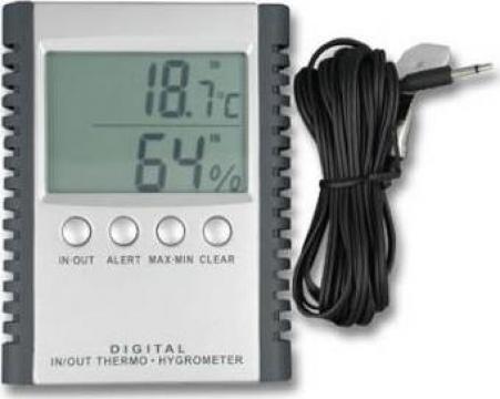 Statie electronica de temperaturi si umiditate de la Mes Marin Srl