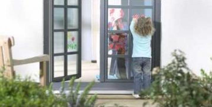 Ferestre PVC Gealan cu geam termopan in Constanta de la Gamaterm Design