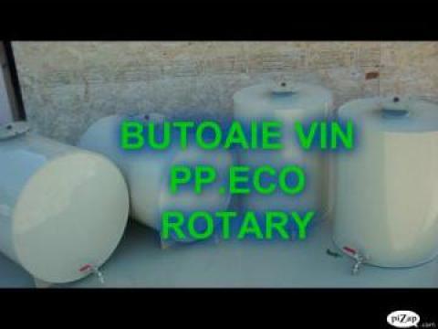 Butoaie vin 300 litri orizontale de la Eco Rotary SRL