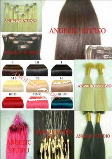 Extensii par 100% natural Microring clip on de la Angelic Studio