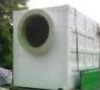 Rezervor paralelipipedic.2000 litri