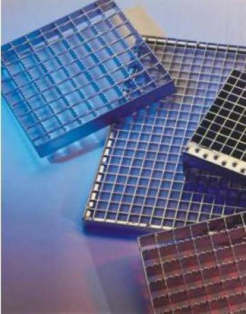 Gratare electroforjate si zincate termic cu antiderapant
