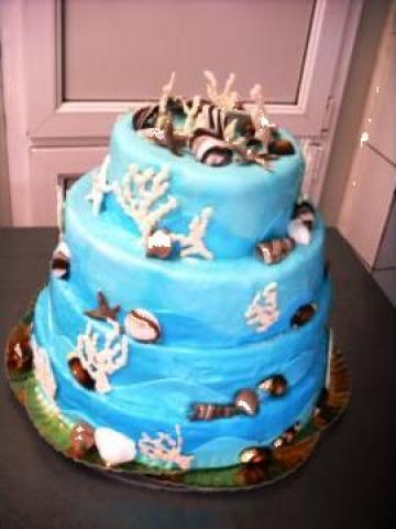 Tort nunta martipan de la Agache & Co Snc