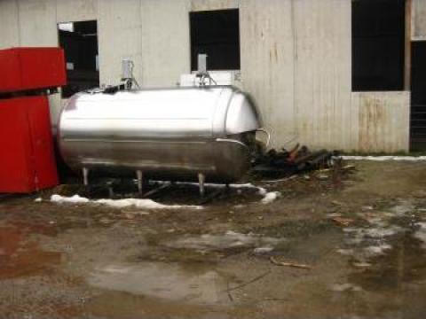 Rezervor Tanc inox lapte 3800 litri de la Frigomilk Srl