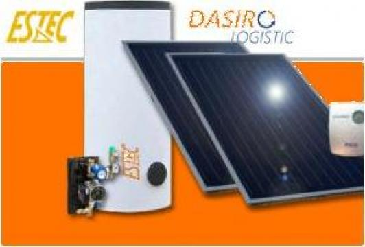 Sistem solar pentru apa calda menajera de la Dasiro Logistic