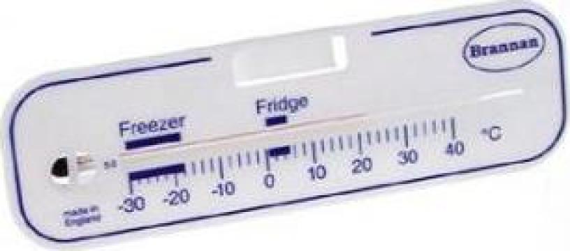 Termometru cu alcool pentru frigider & congelator orizontal