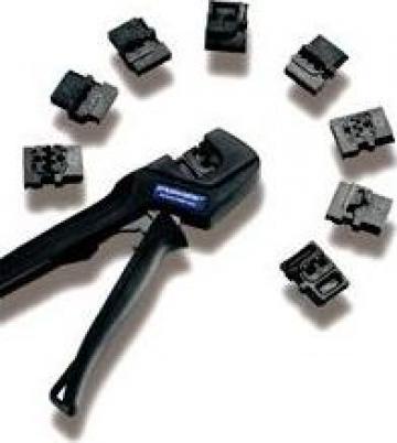 Prese sertizare cabluri Pressmaster izolatie rosu-albastru