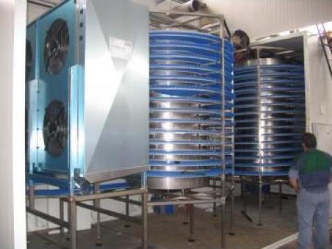 Sisteme refrigerare / congelare in flux continuu