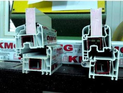 Tamplarie PVC cu 4 si 5 camere de la Es Punct Es Srl
