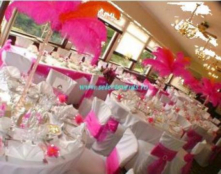 Aranjamente sala nunta, nunti, organizare nunta de la Agentia Select Events