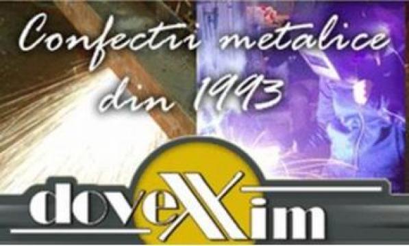 Carucioare metalice pentru industria textila