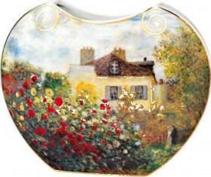 Vaza din portelan Casa artistului de Claude Monet