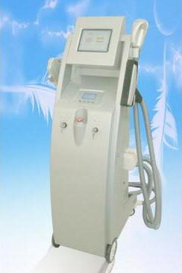 Aparat multifunctional epilat (IPL+RF+E-light+Nd:YAG Laser)