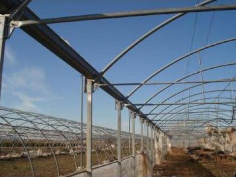 Solarii pe structura metalica de la Metal Glob Crisana