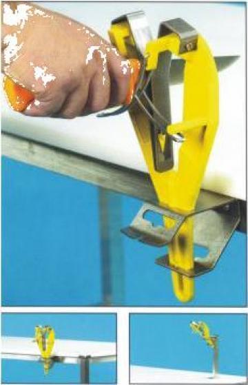 Dispozitiv manual sau de banc pentru ascutit cutite de la Tehno Food Com Serv Srl