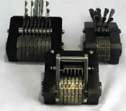 Numaratoare pentru prese - indexare automatica sau manuala