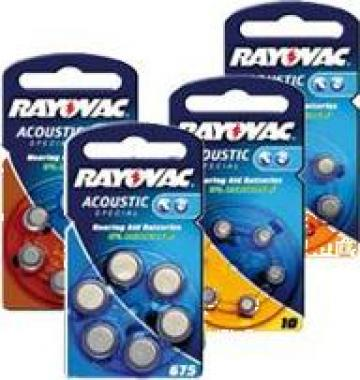 Baterii auditive auditive zinc-aer Rayovac