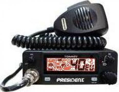 Statie radio CB, President Teddy 12v, 4w de la Electro Supermax Srl