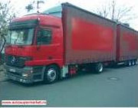 Transport marfa cu tir si trailer de 34 tone de la Pax Trans