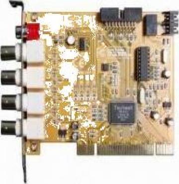 Placa captura video DVR 4 ch/50 fps de la Exor Corporation