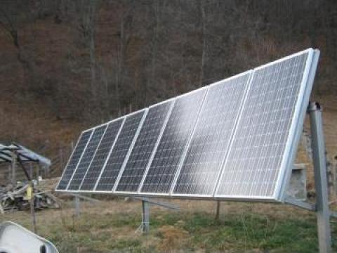 Panouri solare electrice 130W 520 Wh/ zi de la Ecovolt
