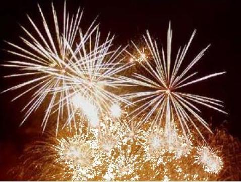 Artificii nunti interior si exterior