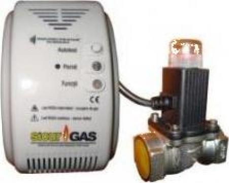 Detector gaz cu electrovana 3/4 Sicur Gas
