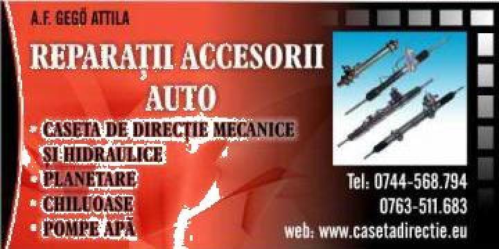 Rectificari casete directie Audi A6