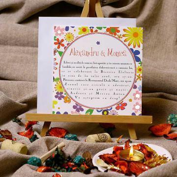 Invitatii de nunta Rondelle de la Sc Pergame Srl
